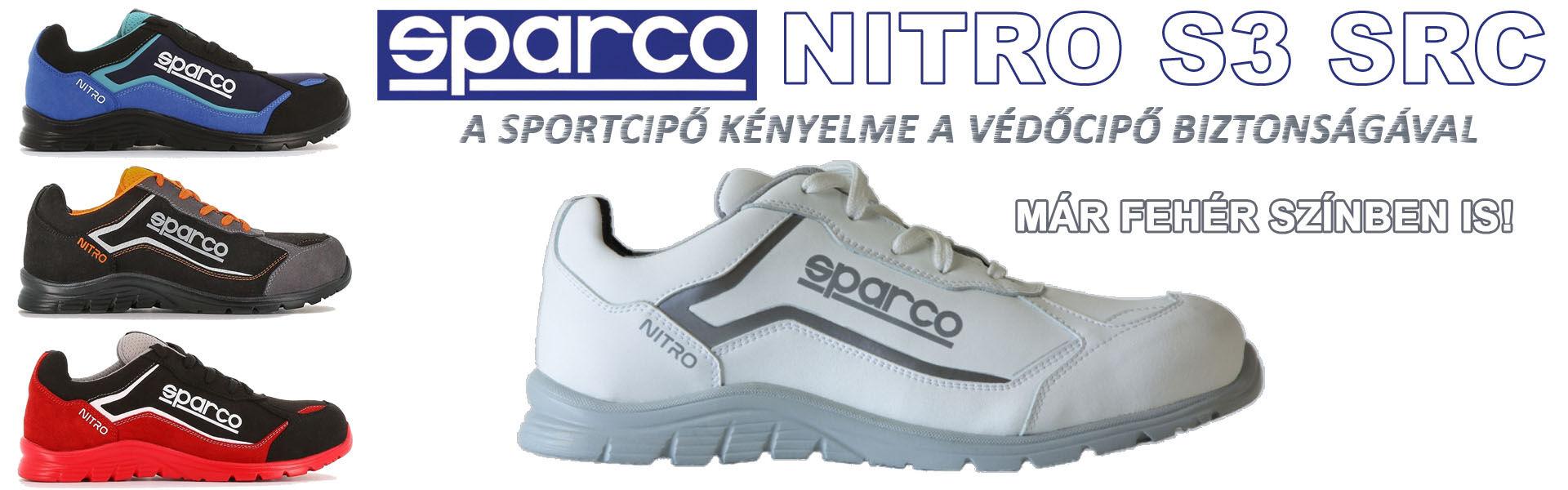 Sparco Nitro fehér