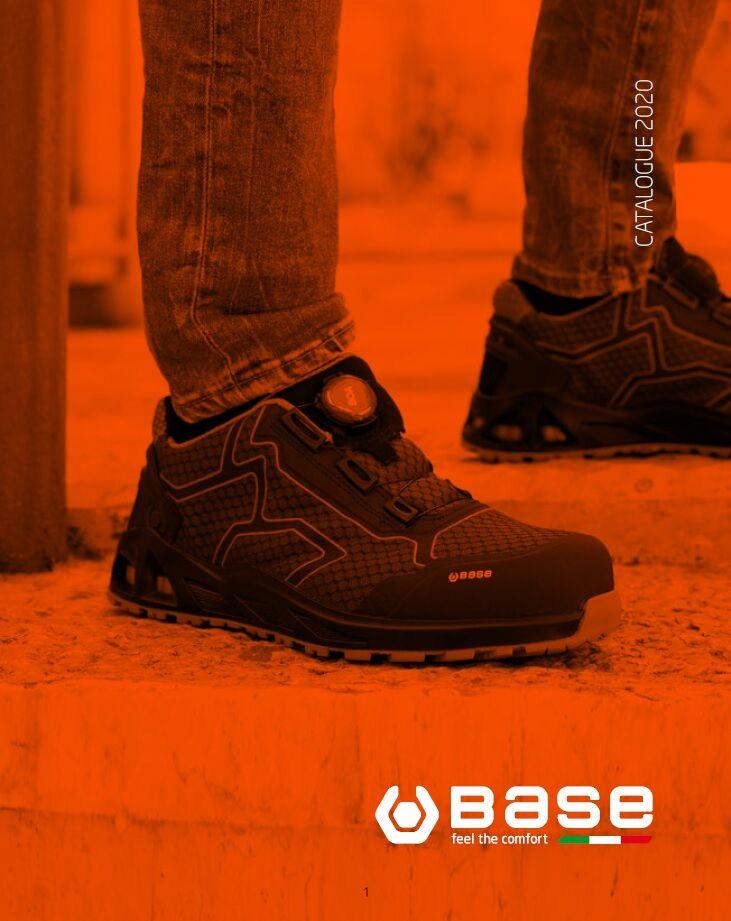 BASE munkavédelmi lábbeli katalógus 2020
