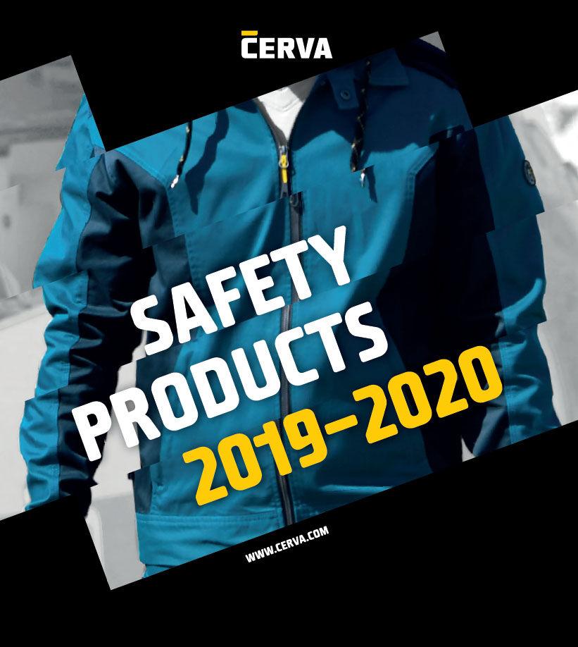 CERVA munkavédelmi katalógus 2019-2020