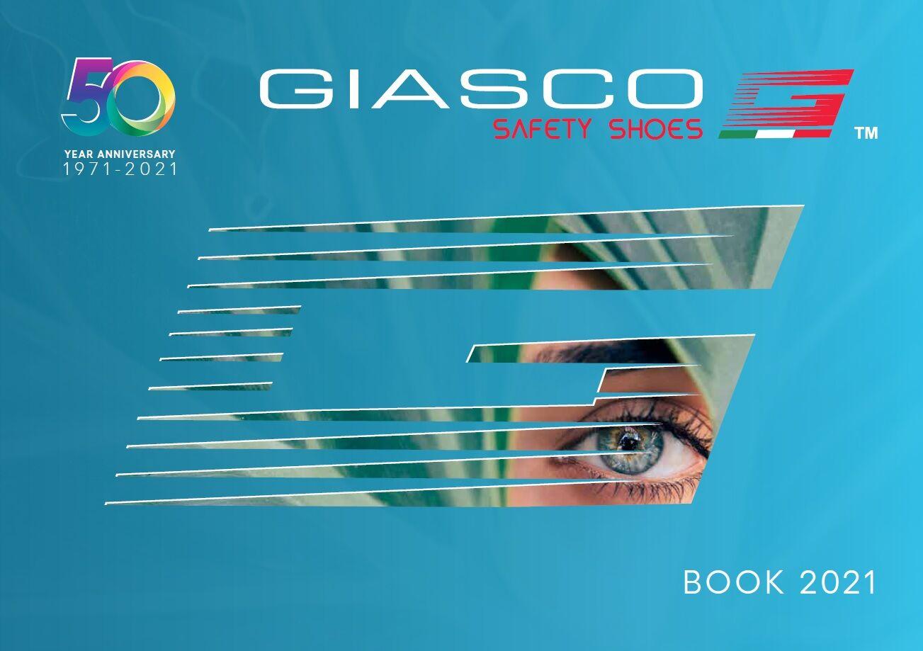 GIASCO munkavédelmi lábbeli katalógus 2021