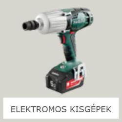 ELEKTROMOS KISGÉPEK