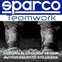 Sparco Teamwork - egyedülálló olasz munkavédelmi termékek