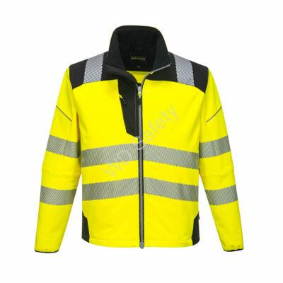 T402 Vision Hi-Vis softshell kabát