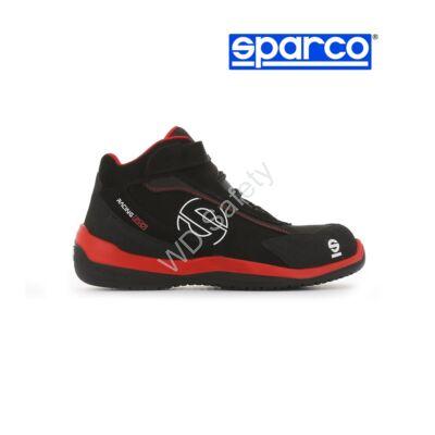 Sparco Racing Evo S3 SRC munkavédelmi bakancs (fekete-piros)