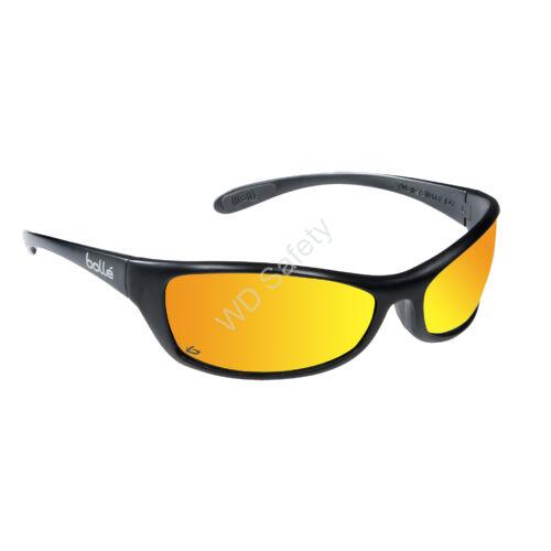 Bollé Spider Flash védőszemüveg sárga tükrös lencsével