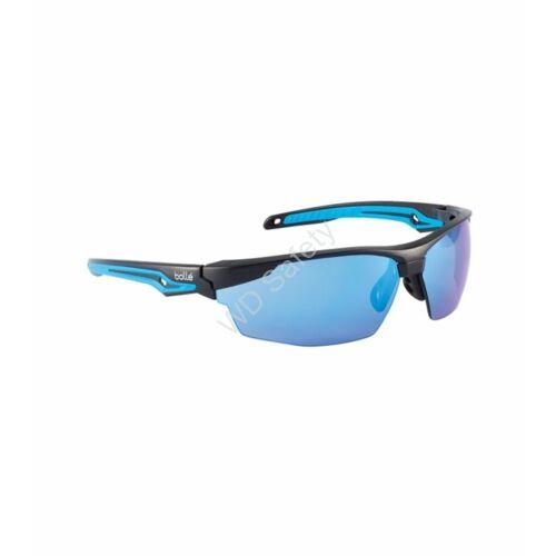 Bollé Tryon Flash védőszemüveg kék tükrös lencsével