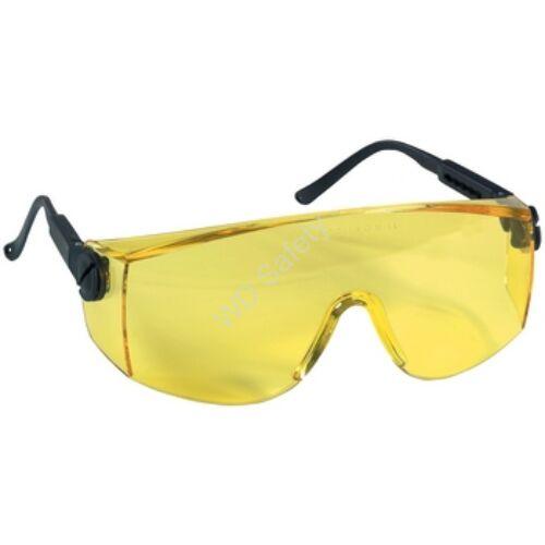 Coverguard Vrilux védőszemüveg sárga lencsével