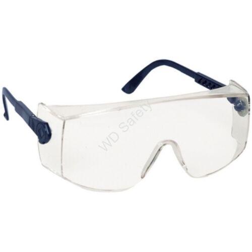 Coverguard Vrilux szemüvegre vehető védőszemüveg víztiszta lencsével