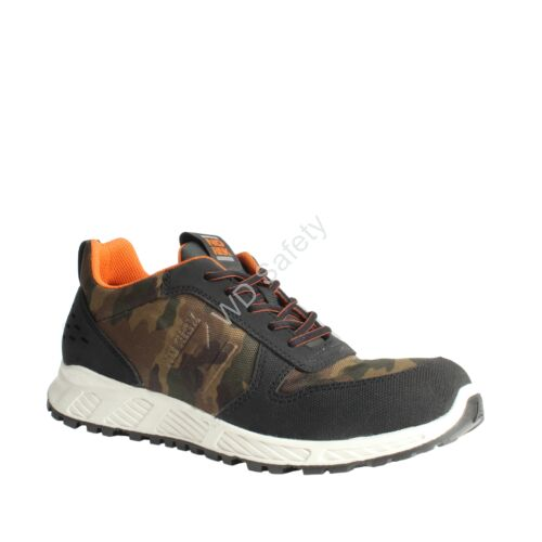 No Risk Courage (Camuflage) S3 HRO SRC terepszínű munkavédelmi cipő