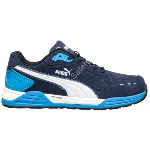 Puma Airtwist Blue Low S3 ESD HRO SRC munkavédelmi cipő