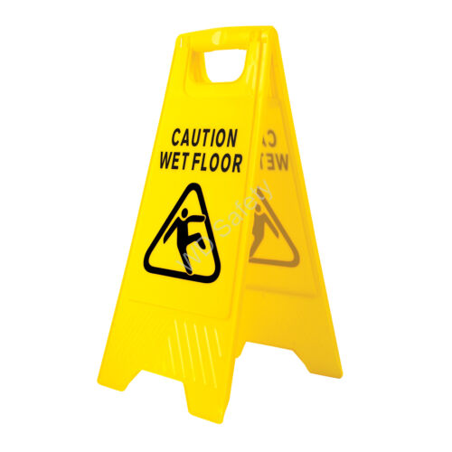 Portwest HV20 Csúszásveszély figyelmeztető tábla (magyar/angol)
