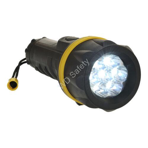 Portwest PA60 7 LED gumi zseblámpa