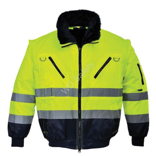 Portwest PJ50 Jól láthatósági pilóta dzseki