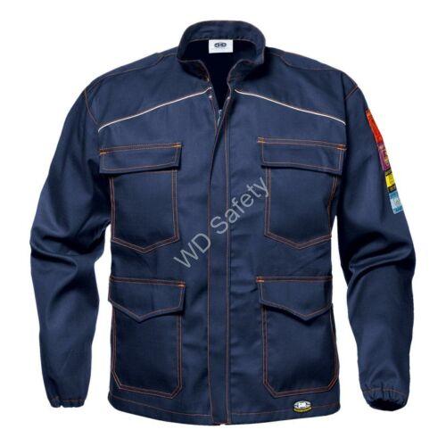Sir Safety Polytech multifunkcionális munkakabát - láng, ív- és vegyszerálló védőruha